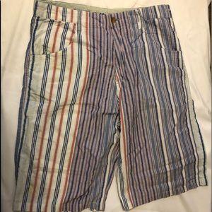 Phat farm striped men's casual shorts.
